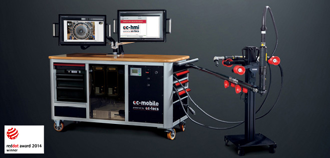 Precision on the go – that is ec-mobile.